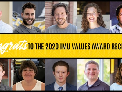 IMU recognizes staff for 2020 IMU Values Awards
