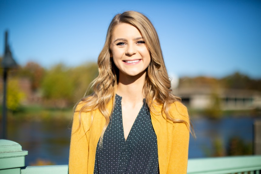 Anne Edwards Ui Homecoming Court 2018 Student Life At Iowa