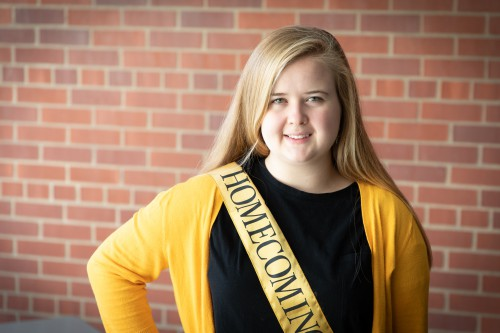 Carissa Bailey: UI Homecoming Court 2018
