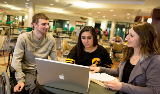 Student Disability Services actively involved in recruiting students to UI