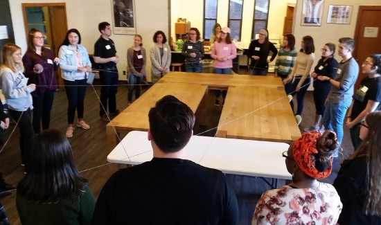 WRACtivists learn multi-level approach to social change